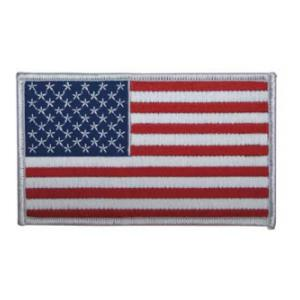American Flag Patch (White Border)