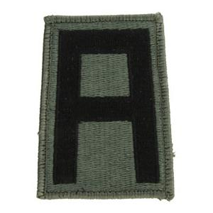 1st Army Patch Foliage Green (Velcro Backed)