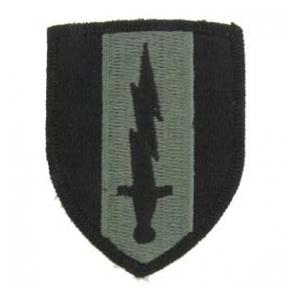 1st Signal Brigade Patch Foliage Green (Velcro Backed)