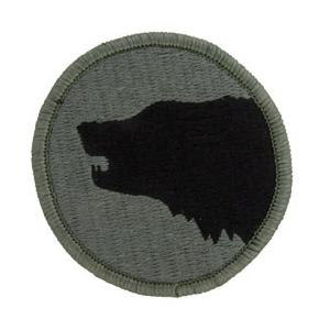 104th Infantry Division Patch Foliage Green (Velcro Backed)