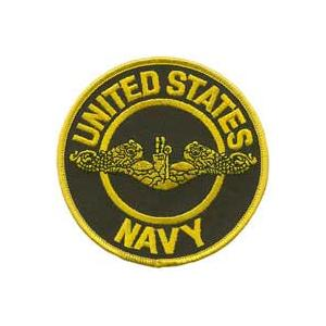 Navy Submarine Patch (Officer)