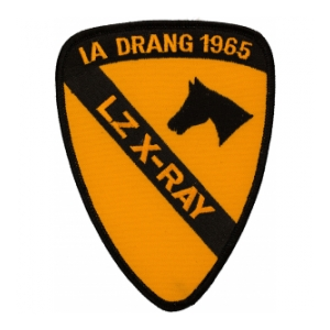 1st Cavalry Division Patch (LZ X-Ray)