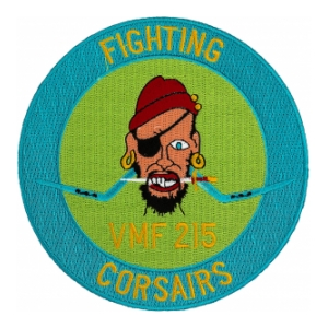 Marine Fighter Squadron VMF-215 Fighting Corsairs Patch