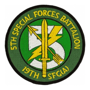 5TH BATTALION 19TH Special Forces Group (A) PATCH