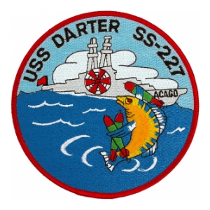 USS Darter SS-227 Submarine Patch