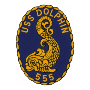 USS Dolphin SS-555 Patch