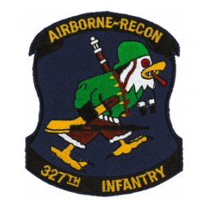 327th Infantry Airborne Recon Patch