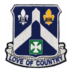 58th Infantry Regiment Patch