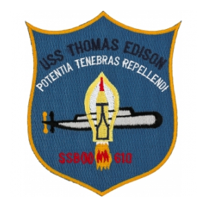 USS Thomas Edison SSB(N)-610 Patch
