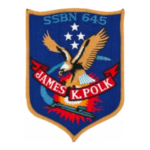 USS James K. Polk SSBN-645 Patch
