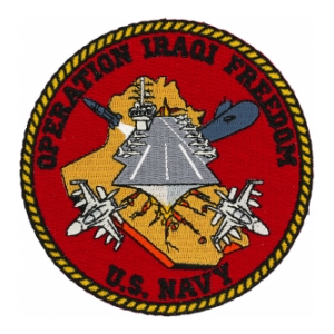 Operation Iraqi Freedom Patch (US Navy)