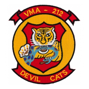 Marine Attack Squadron VMA-212 Patch