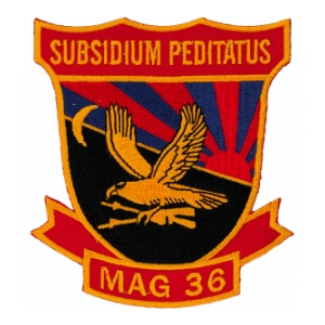 Marine Aircraft Group 36 Patch