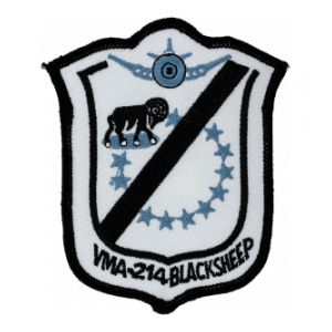 Marine Attack Squadron VMA-214 Patch
