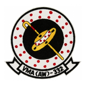 Marine All Weather Attack Squadron VMA(AW)-332 Patch