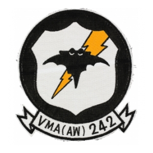 Marine All Weather Attack Squadron VMA(AW)-242 Patch