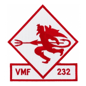 Marine Fighter Squadron VMF-232 Patch