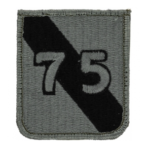 75th Infantry Division Patch Foliage Green (Velcro Backed)