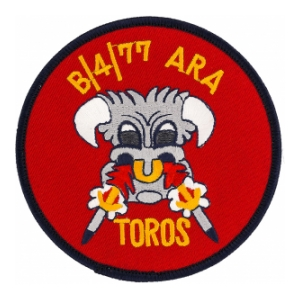 77th Artillery 4th Bn / B Battery Patch