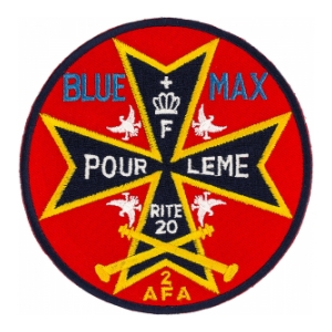 20th Army Flight Activity Blue Max Patch