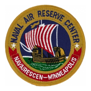 Naval Air Rescue Center Minneapolis Patch