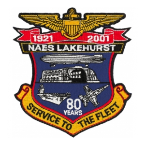 Naval Air Engineering Station Lakehurst Patch