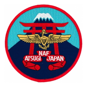 Naval Air Facility Atsugi Japan Patch