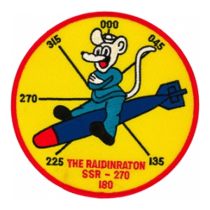 USS Raton SSR-270 Patch