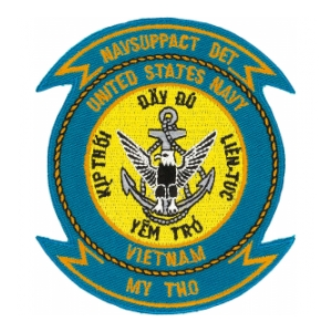 US Navy Vietnam NAVSUPPACT My Tho Patch