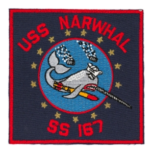 USS Narwhal SS-167 Patch
