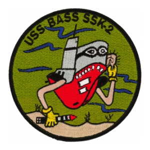 USS Bass SSK-2 Patch
