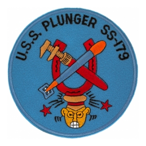 USS Plunger SS-179 Patch
