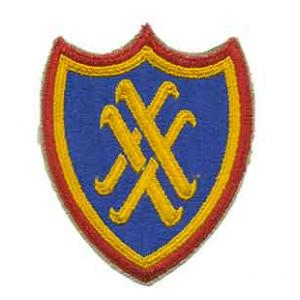 20th Army Corps Patch