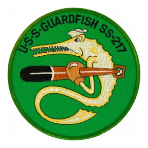 USS Guardfish SS-217 Submarine Patch