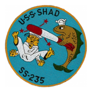 USS Shad SS-235 Submarine Patch