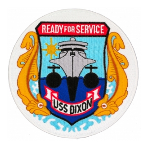 USS Dixon AS-37 Patch