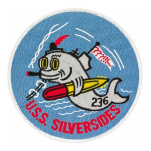USS Silversides SS-236 Submarine Patch