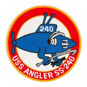 USS Angler SS-240 Submarine Patch