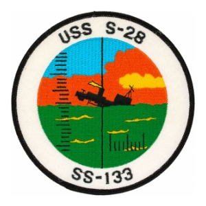 USS S-28 SS-133 Submarine Patch