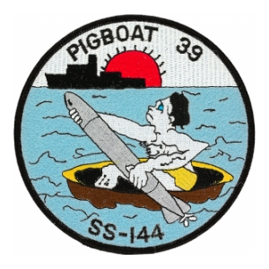 USS Pigboat 39 SS-144 Patch