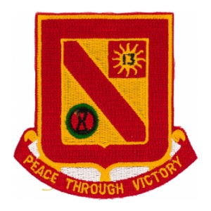 555th Field Artillery Battalion Patch