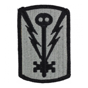501st Military Intelligence Brigade Patch Foliage Green (Velcro Backed)