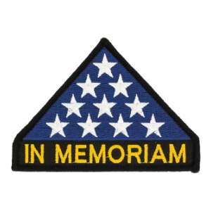 In Memoriam Flag Patch