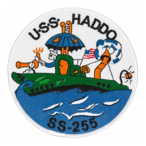 USS Haddo SS-255 Patch