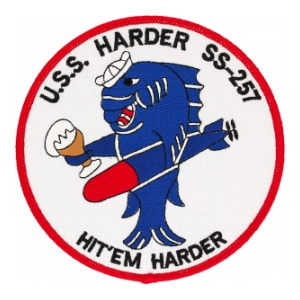USS Harder SS-257 Patch