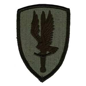 1st Aviation Brigade Patch Foliage Green (Velcro Backed)
