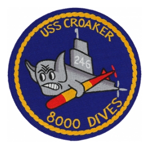 USS Croaker SS-246 Submarine Patch