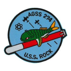 USS Rock AGSS-274 Patch