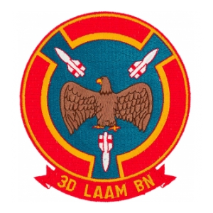 3D LAAM BN Marine Missile Patch