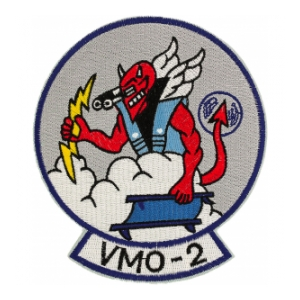 Marine Observation Squadron VMO-2 Patch (Devil)